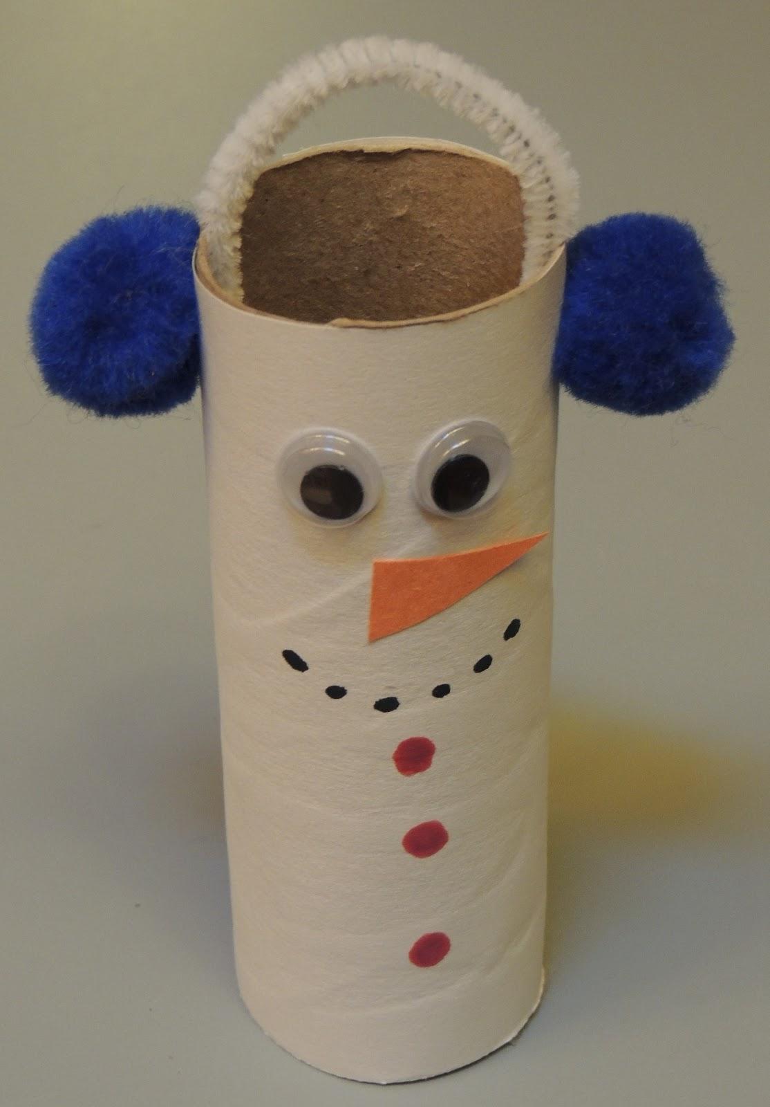 Child Care Basics Resource Blog Toilet Paper Roll Snowman