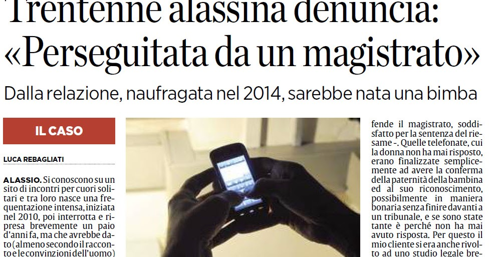 Alassiofutura alassio stalking una trentenne for Diretta da montecitorio