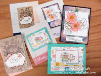 Project Samples from Stampin'UP!'s April 2019 OnStage Convention