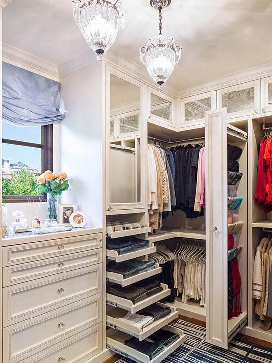 Hogares frescos 40 ideas para dise ar tu closet y for Espejos modernos para habitaciones