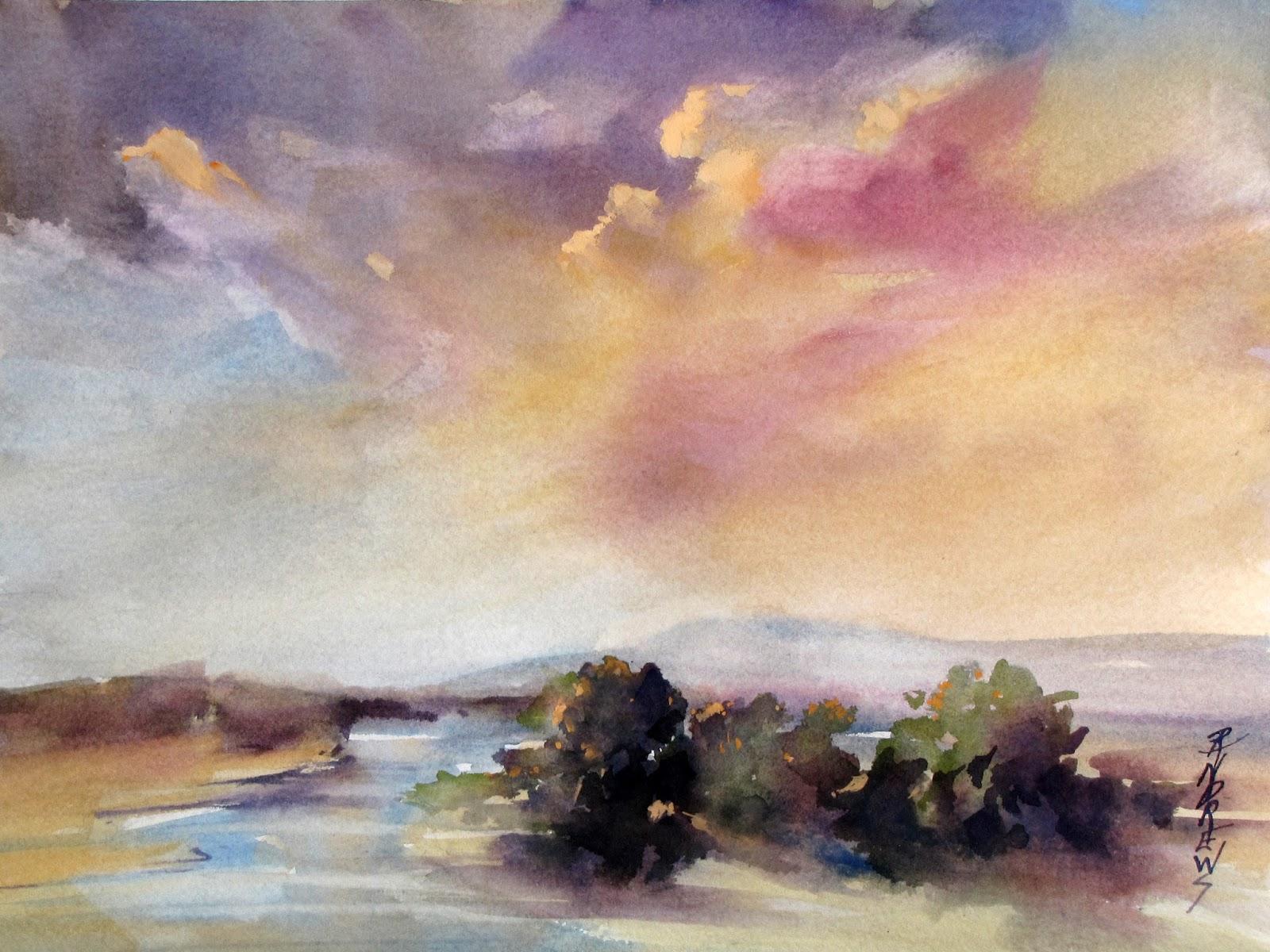 Watercolor artist in texas - Watercolor Texas Artist Rae Andrews