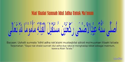 atau Lebaran Haji merupakan salah satu hari raya Islam yang senantiasa dilaksanakan oleh  Niat Shalat Idul Adha dan Tata Caranya