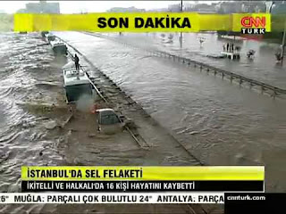 Istanbul floods 2017 july