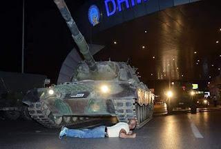 نهاية الانقلاب في تركيا