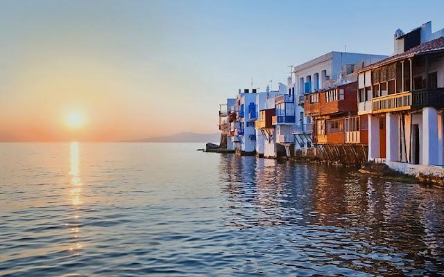 Praias ilha de Mykonos, Grécia