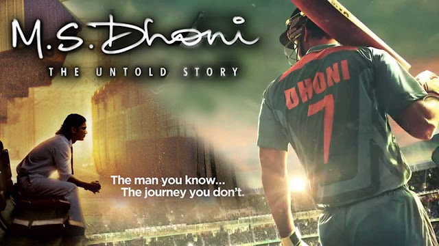 M. S. Dhoni: The Untold Story, Movie Poster, M. S. Dhoni, Sushant Singh Rajput