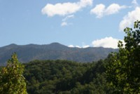 Smoky Mountain views near Gatlinburg