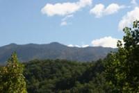 Smoky Mountain views near Gatlinburg