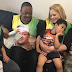Veteran Actor Jide Kosoko Meets With His Son And Family [PICS]