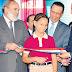 Duarte recibe cinco escuelas, un centro médico y carretera