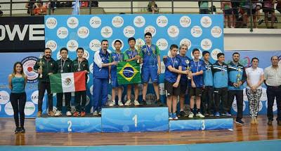 Irmãos registrenses brilham no Campeonato Latino-Americano Sub 11 e Sub 13 de Tênis de Mesa