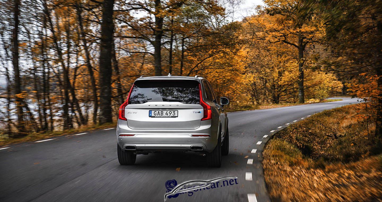 Đuôi xe Volvo XC90 2019