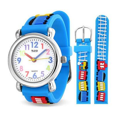 Jam tangan analog untuk anak laki-laki