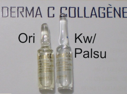 Dr Wandy: Derma C Collagene palsu
