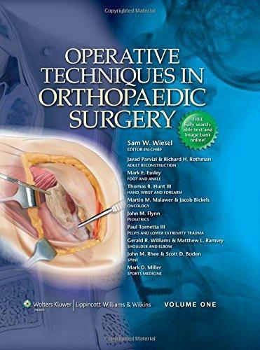 Các kỹ thuật mổ trong Phẫu thuật Chỉnh hình 4-tập