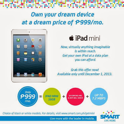 Smart All-In Plan 999 iPad Mini