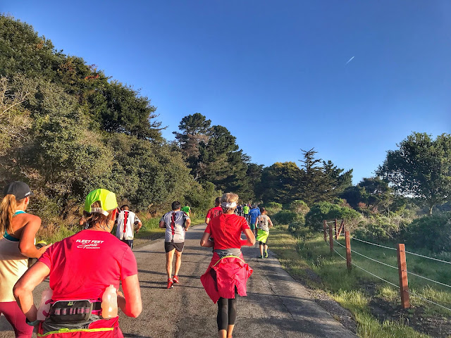Rock'n'Roll San Francisco Half Marathon uphill climb