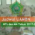 Jadwal Penyelenggaraan UAMBN MTs dan MA Tahun Pelajaran 2017-2018