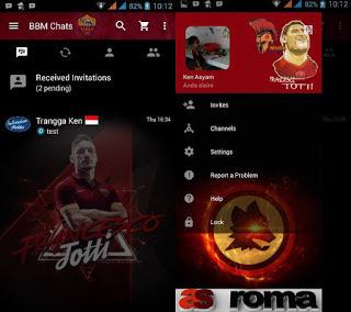 Download BBM Mod Tema Klub Sepakbola Versi 3.3.3.39 Terbaru