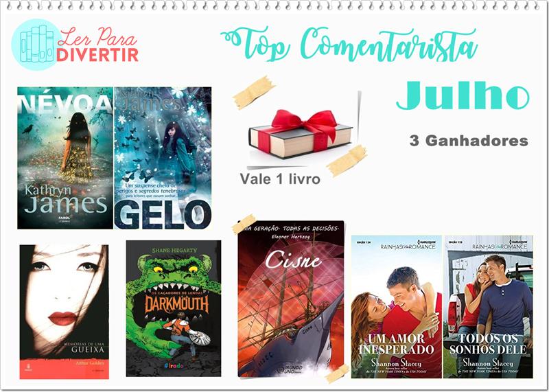 Top Comentarista: Julho 2017