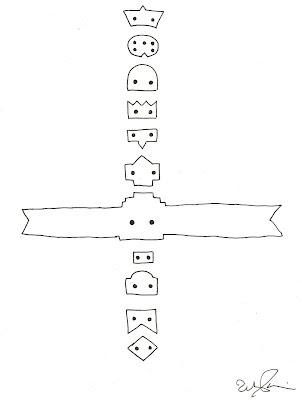 Free Printable Totem Pole Templates - Colorings.net