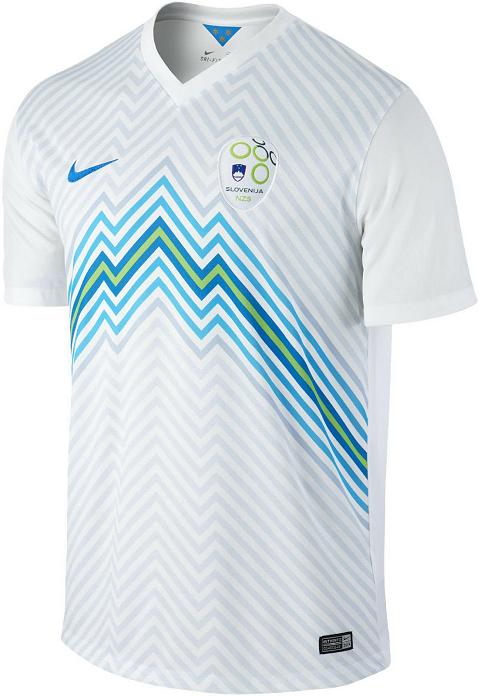 98fa9bbf9f74c Nike divulga novas camisas da seleção de Eslovênia - Show de Camisas