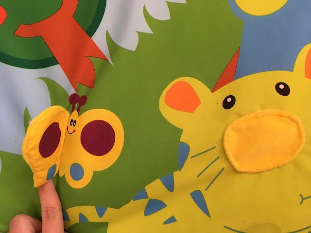 kolorowe zabawki mata canpol babies
