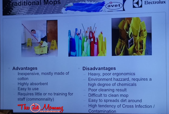 advantages and disadvantages of traditional mops