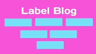 membuat label blog responsive