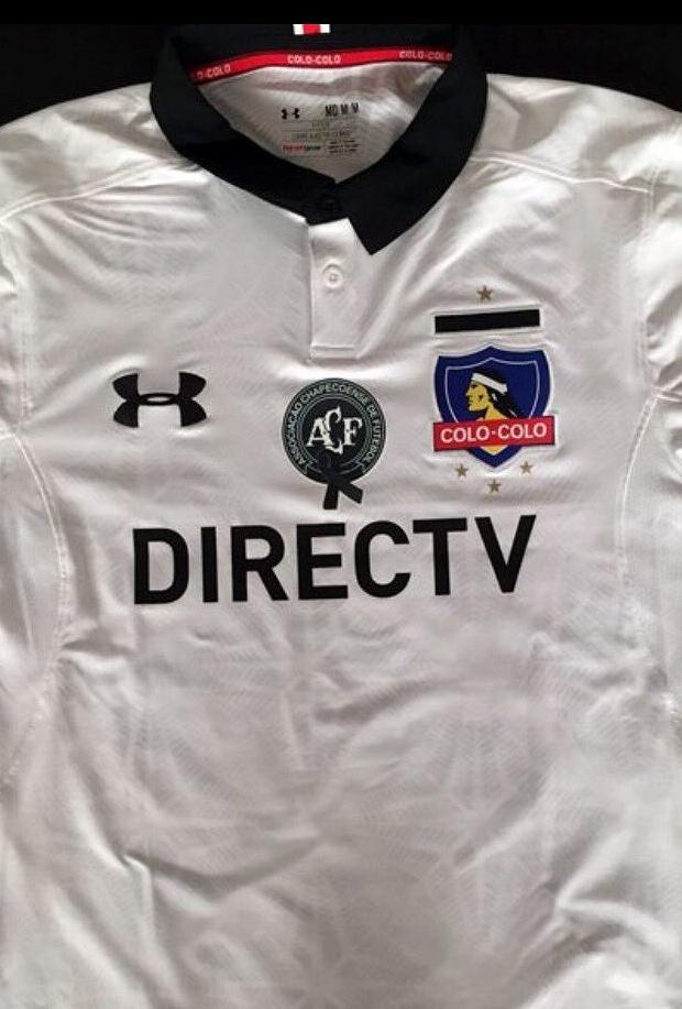 ea8e977e61 Colo-Colo homenageará a Chapecoense em sua camisa - Show de Camisas