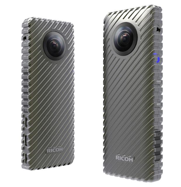 CES 2017: Ricoh R - máy quay 360 độ có khả năng phát trực tiếp 24 tiếng
