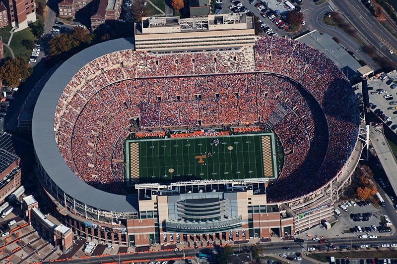 Самый вместительный стадион
