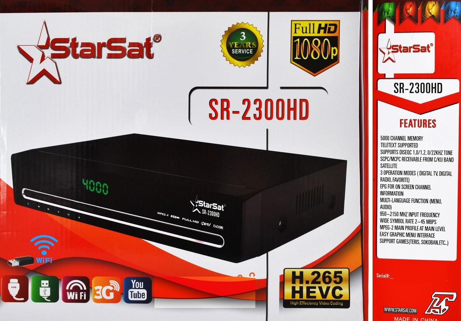 StarSat 2300 HD Receiver New Software Download 2019 – Saeed Online