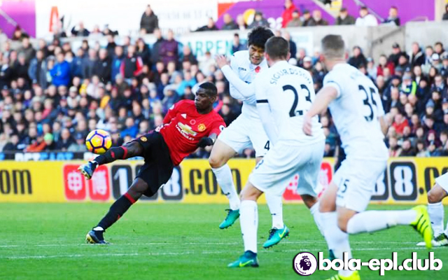 Highlight Swansea City 1 - 3 Manchester United 6 November 2016