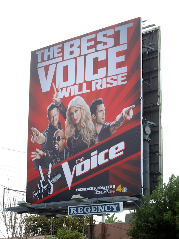 The best Voice will rise billboard