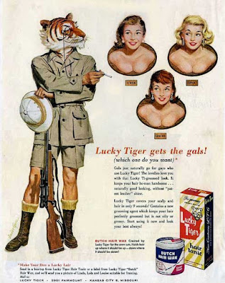 Lucky Tiger Gets the Gals
