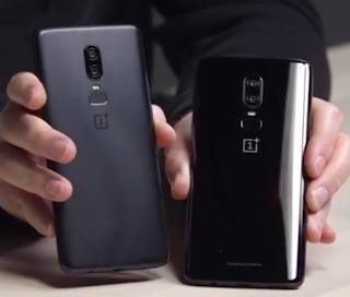 OnePlus 6 Mirror Black, Midnight Black Versions