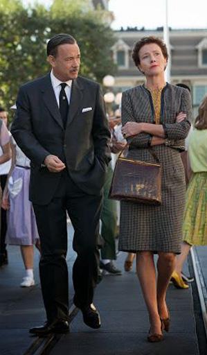 Walt Disney e Pamela no filme
