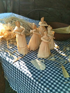 handmade cornhusk dolls