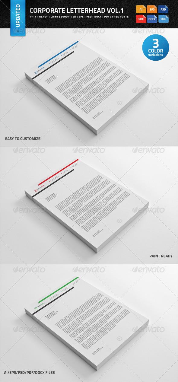 Corporate Letterhead Engecom Branding By Brbauen 105 Best - corporate letterhead template