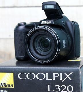 Jual Kamera Nikon CoolPix L320 Seken