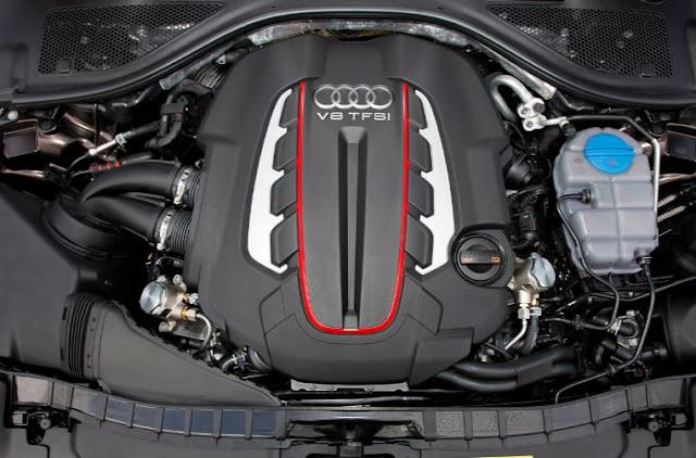 2018 Audi S7 Engine