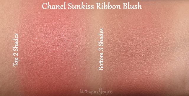 Chanel Sunkiss Ribbon Harmony Blush Swatch