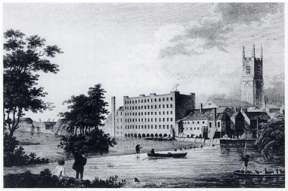 27 18th-Century World-Changing Inventions - The first factory opened by Lombe