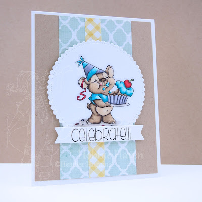Heather's Hobbie Haven - Celebrate Card