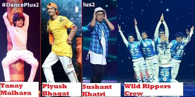 dance plus 2 finalists