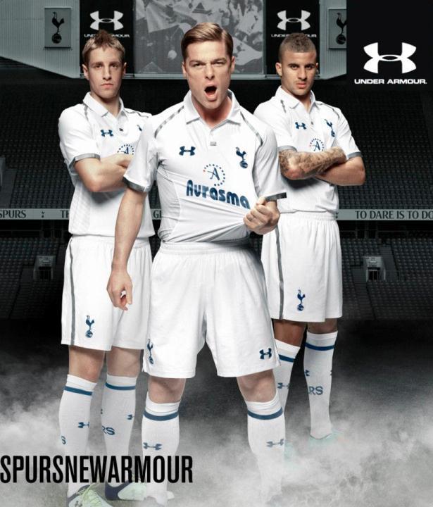 0716eb9f916 Camisetas Under Armour del Tottenham 2012 2013 - Nuevo Fútbol