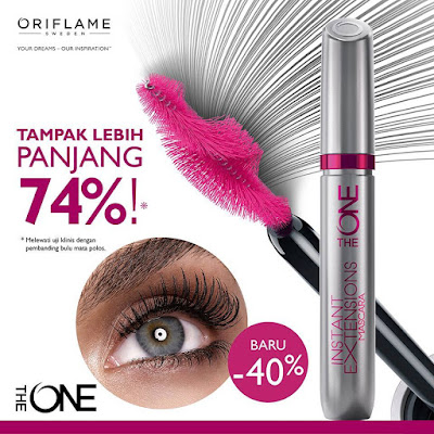 The ONE Instant Extentions Mascara (Black)