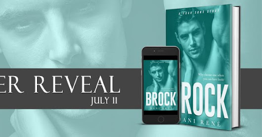 Cover reveal: Brock by Dani René