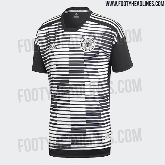 Adidas Parley Germany 2018 World Cup Pre-Match Jersey Leaked - Footy ... 22c861de05a6